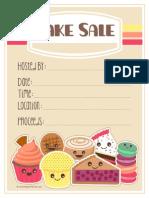 Wl Bake Sale Flyer Abp