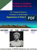Typhoid Fever in Children