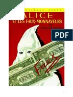 Caroline Quine Alice Roy 06 BV Alice Et Les Faux Monnayeurs 1931