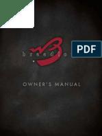 Breedlove Owners Manual