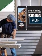 WRCLA Installing Siding