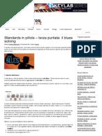 Standards in Pillole - Il Blues - Parte2