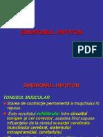c8 - SINDROMUL HIPOTON ultim curs