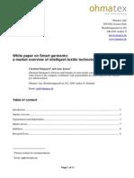 Whitepaper Smart Textiles