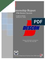 108056140 DESCON Internship Report