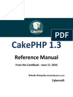 Customized Cakephp Manual by Behailu Sintayehu