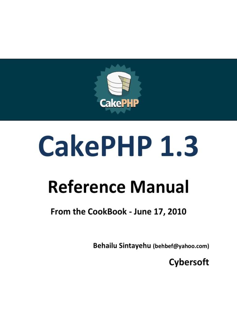 cakephp 2.2.5