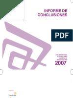 Informe Sector Vitivinicola 2007