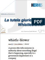 Ep2013we 13 Micozzi Tutela Giuridica Whisteblower Parte 2