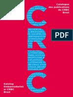 Crbc Extrait Catalogue