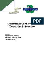 Consumer Behaviour Towards E-service