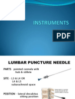INSTRUMENTS IN PEDIATRICS