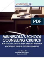 Minnesota's School Counseling Crunch