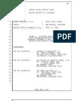 Trial Transcript,  2009-04-20 PM