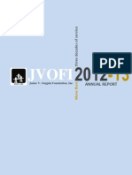 Jaime V. Ongpin Foundation, Inc.  Annual Report 2012-13