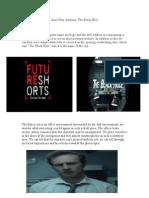 Short Film Analysis (Black Hole)