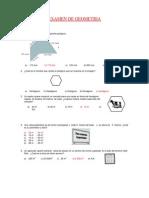 Examen de Geometria Jorge Chavez Ultimo Setiembre