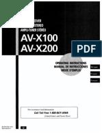 Aiwa Av x200