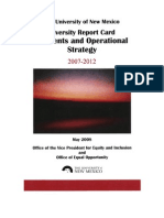 UNM Diversity Report Card