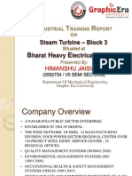 Himanshu Jais BHEL BLOCK 3 Ppt
