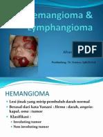 Hemangioma Dan Lymphangioma SLIDE