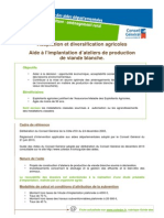 Agriculture Aidealaproductiondeviandeblanche