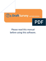 7s-DraftSurvey-UserManual