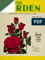 California Garden, Vol. 52, No.2, April-May 1961 (1961)