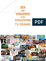 Sex and Violence in the Philippine TV Drama