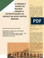 A FORMAÇÃO URBANA E  SOCIAL DA CIDADE DE  BELO HORIZONTE