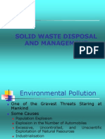 Solid Waste Disposal and Management
