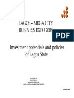 Investment Potentials in Lagos State