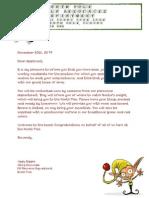 Elf Acceptanct Letter
