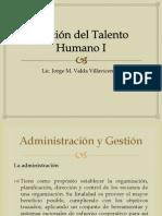 Gestión del Talento Humano I