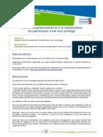 Patrimoine-ConservationRestaurationPatrimoineRuralNonProteges
