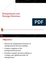 Lecture Slides-Entrepreneurs and Strategic Decisions