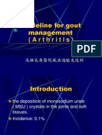 guideline of gout