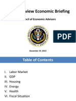 Year in Review Economic Briefing - Council of Economic Advisers