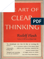 Flesch the Art of Clear Thinking