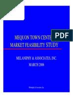 Shopping Mall Feasibility Study
