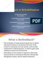 Biofeedback in Rehabilitation