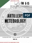 1970 US Army Vietnam War Artillery Meteorology 321p