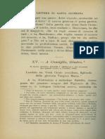 Lettera XV001