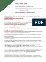 Tutorial- Instala Duokan en Tu Kindle Touch
