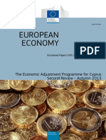 The Economic Adjustment Programme for Cyprus – Second Review, Autumn 2013