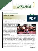 Aawa Aktuell Nr. 74 - November 2013