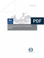 Open Access Marketing Pilot for Ftth Network Roll Out