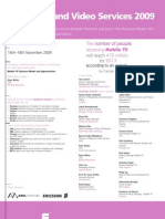 Mobile TV and Video Services 2009 Agenda