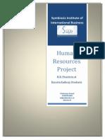 12020241092 DIV B - HRM Project - Pratisurya Anand