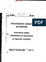 1971 US Army Vietnam War AMCP Explosives Data 404p
